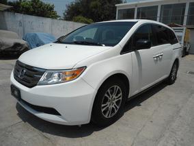 Honda Odyssey Exl 2011 Blanca