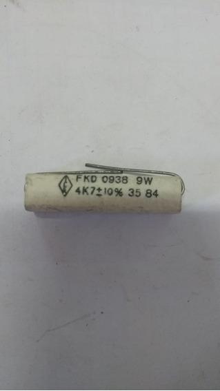 Resistor De Porcelana 4k7 9w - 10 Peças
