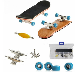 Patineta Fingerboard Profesional Madera 96mm Tipo Tech Deck