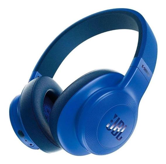 Fone de ouvido sem fio JBL E55BT azul