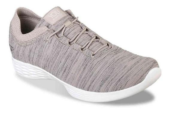 Zapatillas Skechers You Define Mujer Yoga - Caminatas -