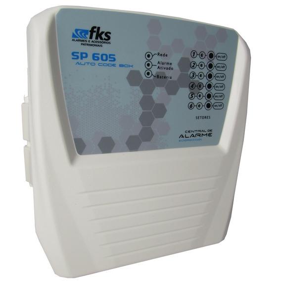 Central Alarme Sp 605 - Fks