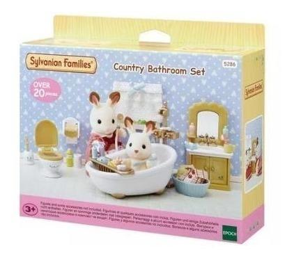 Brinquedo Conjunto Toalete E Banho Families Sylvanian