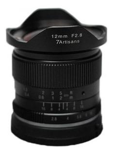 Lente 7 Artisans 12mm F2.8 Sony Montura E