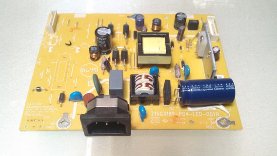 Placa Fonte Monitor Aoc E1621s 715g3189-p04-led-001r