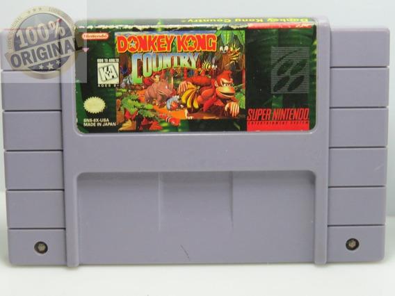 Cd 265 Donkey Kong Snes Original Super Nintendo Usado