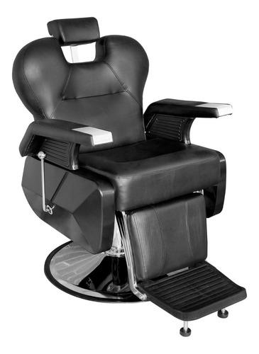 Imagen 1 de 10 de Sillon Barbero Peluqueria Silla Barberia Estetica Rudo