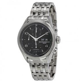 Relogio Baume & Mercier Cronografo Automático Clifton Preto