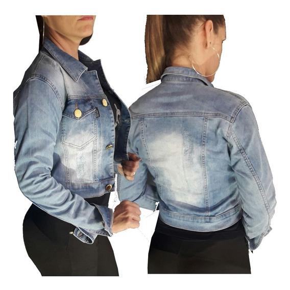 Jaqueta Set For Jeans Feminina