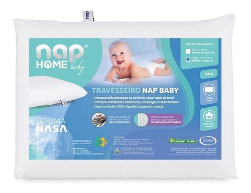Imagem 1 de 10 de Travesseiro Infantil Nasa Nap Baby Hipoalergênico