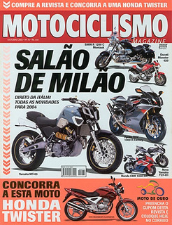Motociclismo.070 Out03- Xt600 Cb500 Harley Mirage Vrod Canyo