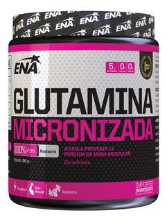 Glutamina 150 Gr Ena Sport Aminoácido Recuperador Muscular