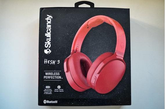 Fone E Headset Wireless Bluetooth Skullcandy Hesh 3
