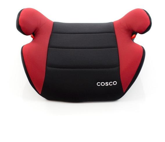 Booster De 15kg Até 36kg - Go Up - Preto E Vermelho - Cosco