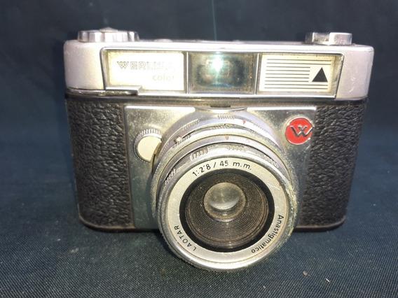 Antiga Câmera Fotográfica Werliza Espanha