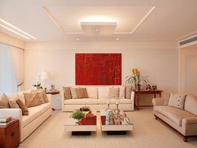 Riserva Uno, Alto Luxo, 5 Suítes, 8 Banheiros (2 De Empregada), 1 Sala Ampla 3 Ambientes - Ap01155