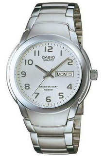 Reloj Casio Mtp-1229d Hombre 100% Acero Inox Sumergible