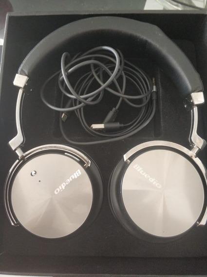 Bluedio T4s Cancelamento De Ruído Ativo Sem Fio Bluetooth