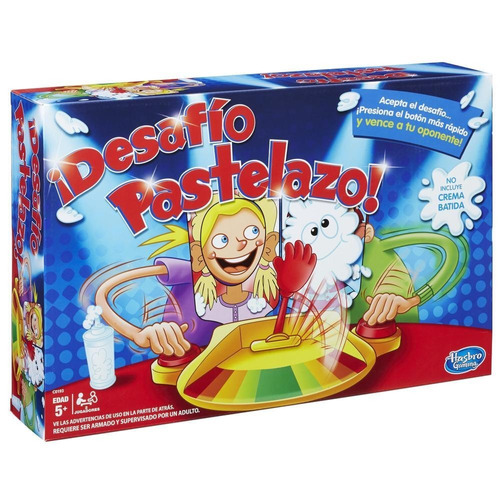 Imagen 1 de 9 de Pastelazo Desafio Boton Juego De Mesa Hasbro C0193 Full
