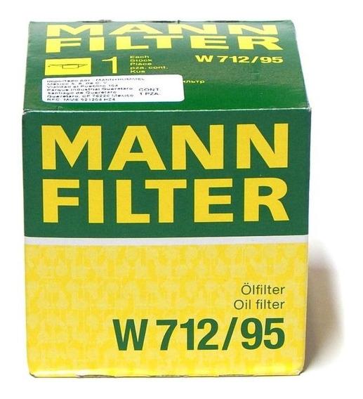 Filtro Aceite Golf 2016 1.4 Tsi Mann W712/95