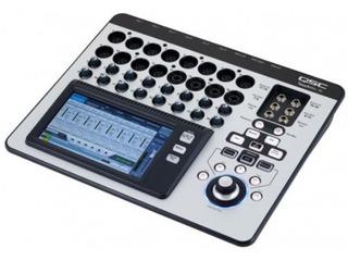 Consola Digital Qsc Touch Mix 16. Como Nueva
