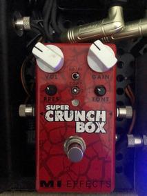 Pedal Super Crunch Box Mi Effects