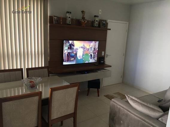 Apartamento Com 2 Dormitórios À Venda, 55 M² Por R$ 190.000 - Jardim Novo Ii - Mogi Guaçu/sp - Ap0175