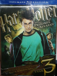 Harry Potter And The Prisoner Of Azkaban - Year 3 Blu Ray