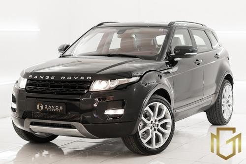 Imagem 1 de 15 de Land Rover Evoque Pure 2.0 2012 Preta
