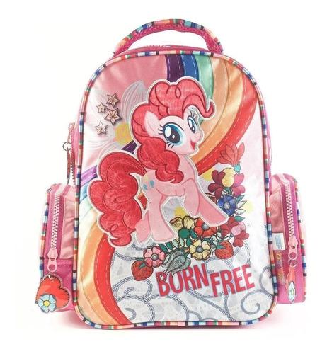 Mochila My Little Pony Born Free 13 Pulgadas Jardin Deluxe