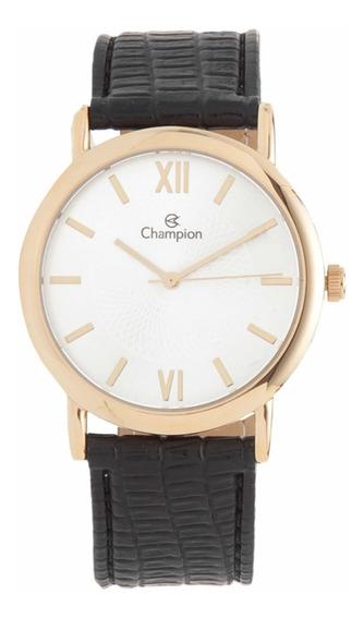 Relógio Champion Masculino Couro Ch22699m
