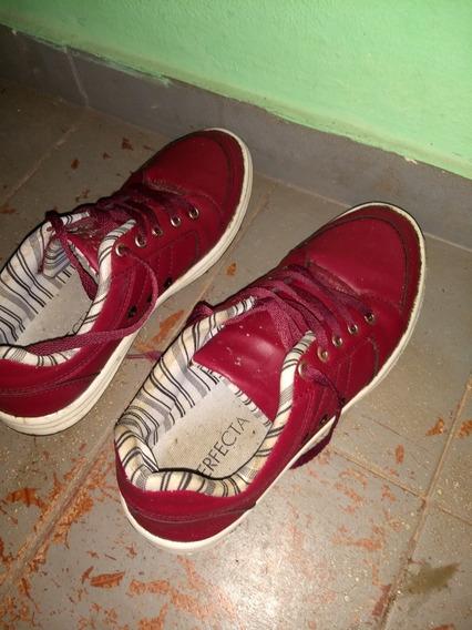Sapatênis Vermelho