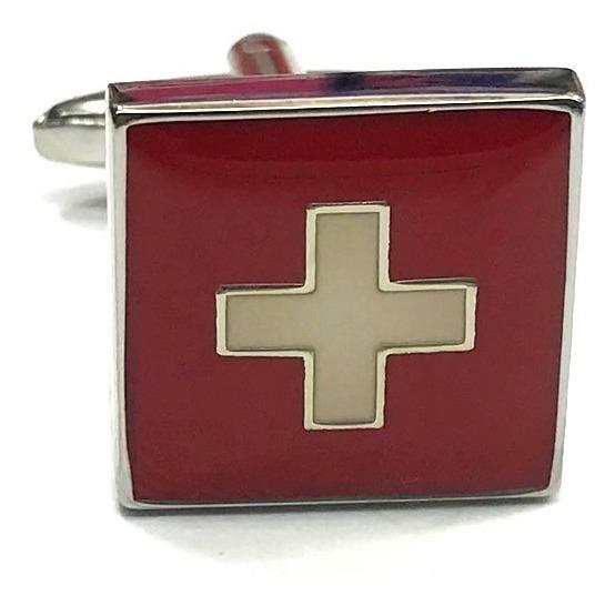 Parche bandera Suiza SWITZERLAND suizo   emblema escudo de armas PATCH bordado