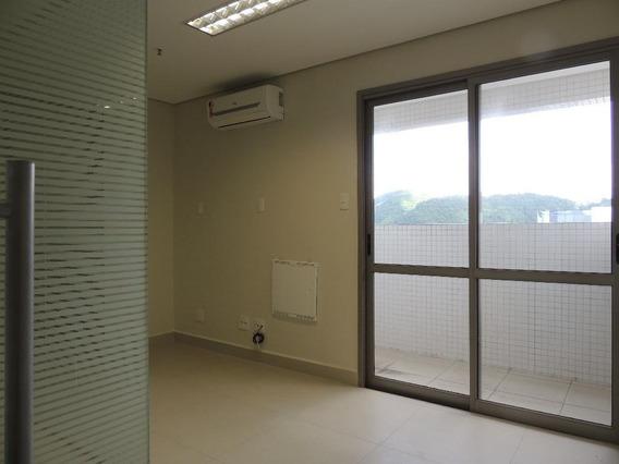 Sala Em Vila Matias, Santos/sp De 45m² Para Locação R$ 1.950,00/mes - Sa350068