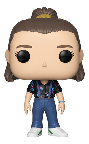 Boneco Funko Pop Stranger Things Onze Eleven Suspenders 843