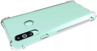 Funda Samsung A10 M10 Anti Shock + Vidrio Templado