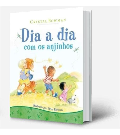Dia A Dia Com Os Anjinhos 365 Historinhas Bíblia Capa Dura