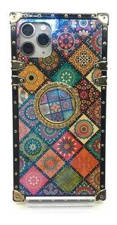 Funda Para iPhone 11 Pro Max Diseño Geométrico Multicolor