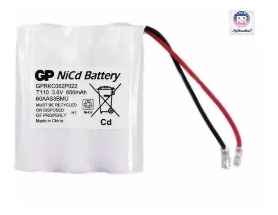 Bateria Telefone Sem Fio Gp T110 3.6v 600mah