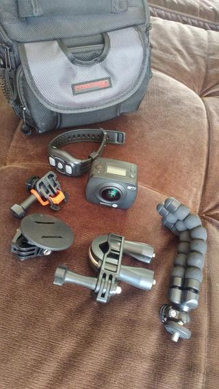 Camera Vivitar 988hd Wifi,controle,acessórios, 4k (gopro)