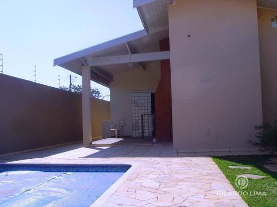 Casa Com 3 Dormitórios À Venda, 260 M² Por R$ 550.000,00 - Centro - Cerquilho/sp - Ca0613