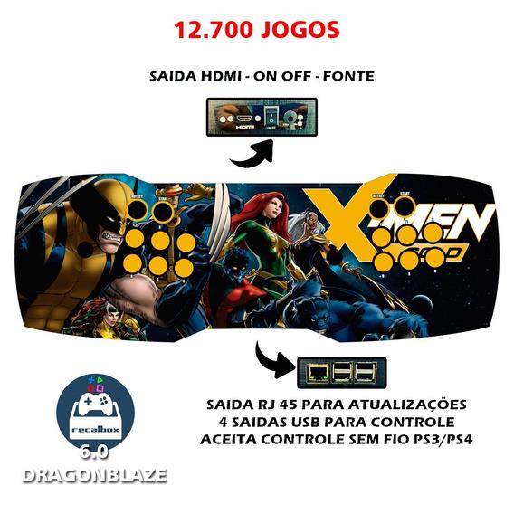 Fliperama Portátil, Controle Arcade Com 12 Mil Jogos