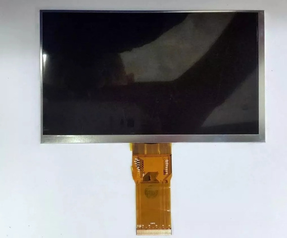 Tela Display + Touch - Flat 50 Vias   7300101462   Tablet Tr72 / Tr72p