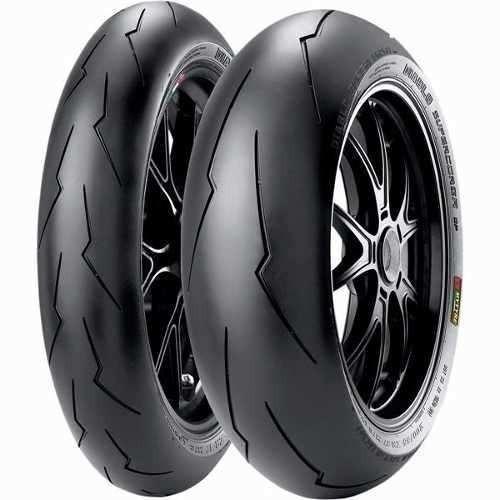 Pneu 200/55-17 E 120/70-17 Pirelli Supercorsa Sp