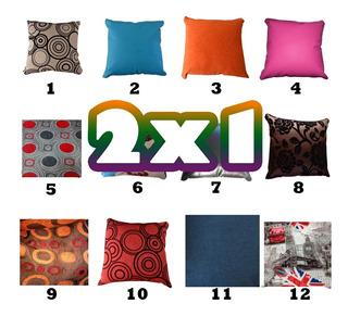 Cojin Decorativo 2x1 Cojines Leer Descripcion