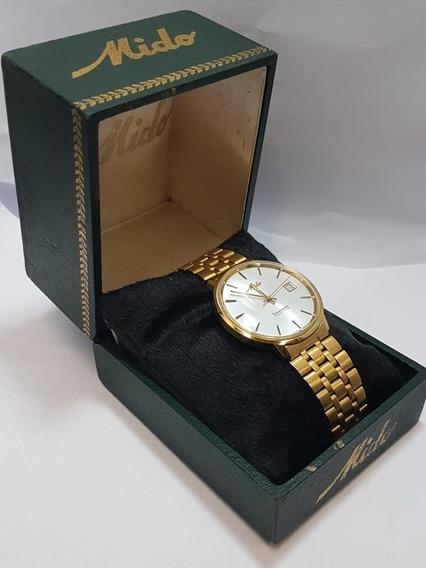 Relógio Ouro 18k Marca Mido Commander Ocean Sta