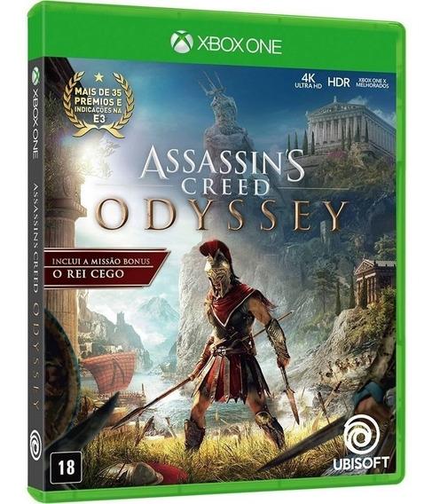 Assassins Creed Odyssey - Dublado - Midia Fisica - Xbox One