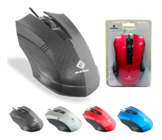 Mouse Com Fio Usb Para Computador E Notebook