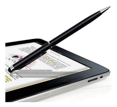 2 In1 Táctil Bolígrafo Stylus Tablet iPad iPhone Samsung