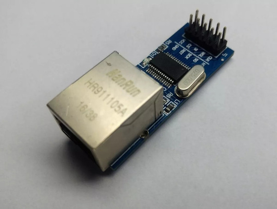 Módulo Ethernet Enc28j60 Arduino Raspberry Pic